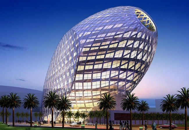 Cybertecture Egg office