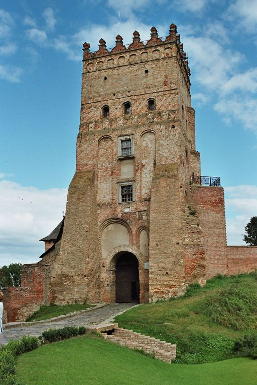 Lutsk castle tower