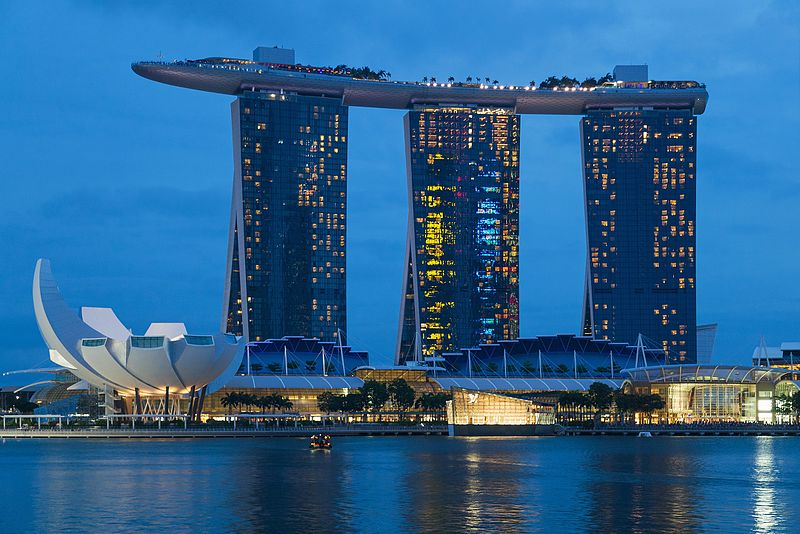 Singapur Downtown Core Marina Bay