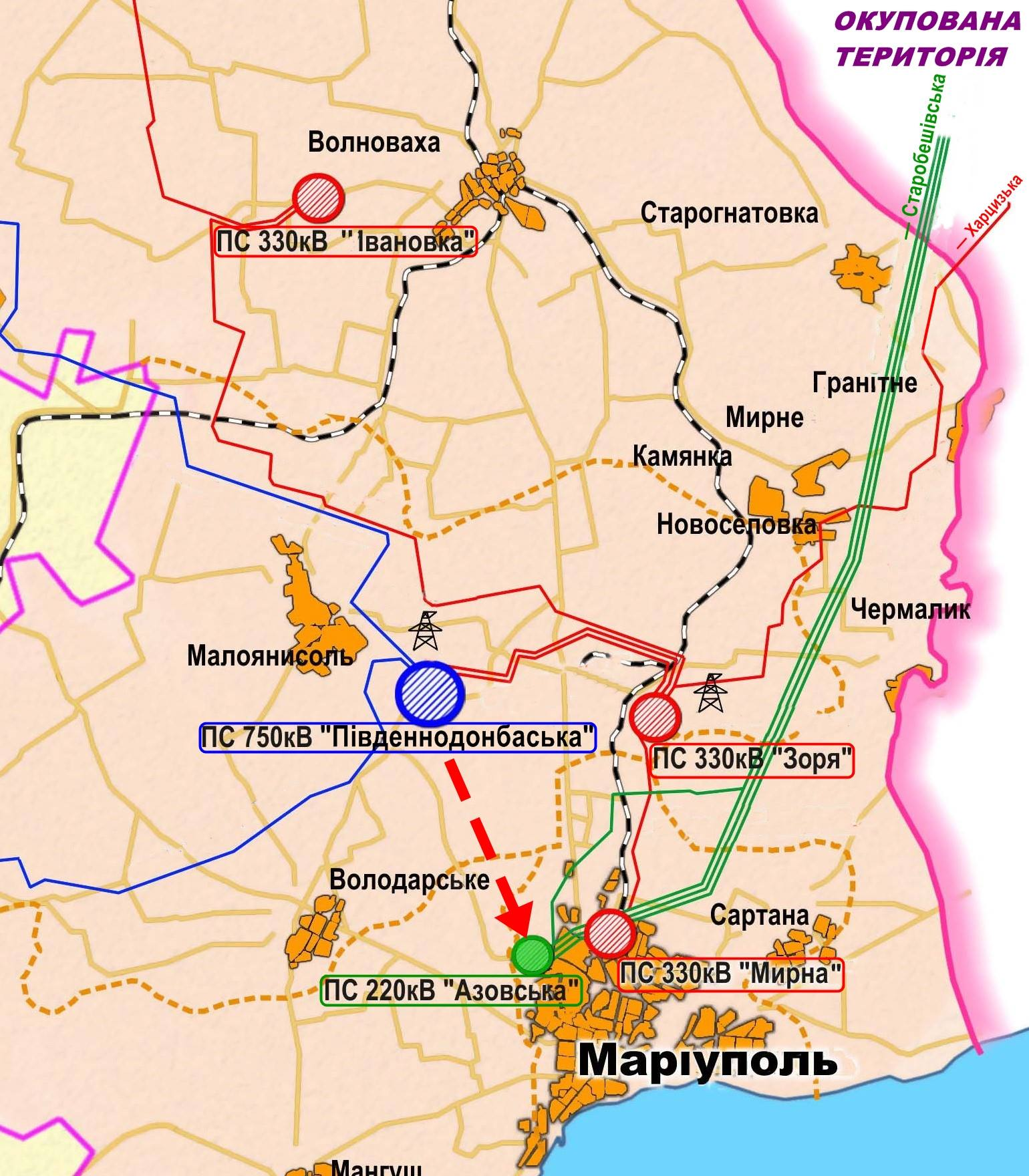 nec mariupol new map