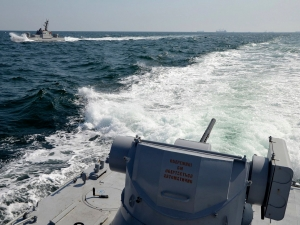 SAIL A NATO VESSEL TO A UKRAINIAN PORT ON THE SEA OF AZOV: STOP PUTIN'S WAR