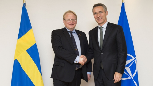 SWEDEN JOINS MILITARY TRAINING IN UKRAINE AND TAKES A STEP TOWARDS NATO