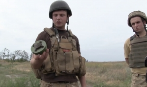 RUSSIA DEPLOYS ANTI-PERSONNEL MINES IN WAR AGAINST THE UKRAINIAN PEOPLE