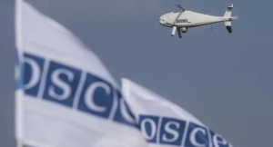 RUSSIAN INVADERS BRING DOWN OSCE DRONE OVER OCCUPIED UKRAINE
