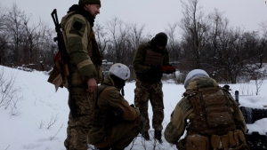 "RUSSIA BOMBARDS UKRAINE, SHATTERS ""NEW YEAR'S CEASEFIRE"""