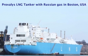 SHAME ON US: WASHINGTON ALLOWS ANOTHER SANCTIONS-BUSTING GAS DELIVERY FROM RUSSIA