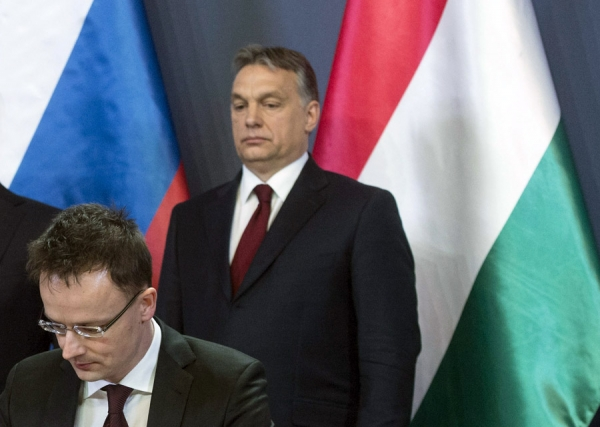 HUNGARY UNDERMINES UKRAINE FROM THE WEST WHILE RUSSIA ATTACKS FROM THE EAST