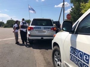 OSCE SPECIAL MONITORING MISSION TO UKRAINE SPOTS RUSSIAN INVASION CONVOY
