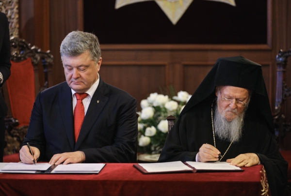 KYIV AND CONSTANTINOPLE IN CONTROL AS UKRAINIAN CHURCH REUNIFIES