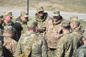 UKRAINE STRENGTHENS THE DEFENCE OF EUROPE FROM INVASION BY RUSSIA