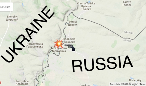 PUTIN'S WAR IS INTERNATIONAL WAR: RUSSIA ATTACKED UKRAINE ACROSS THE BORDER ON FEBRUARY 8