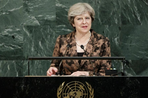 STATEMENT BY PRIME MINISTER OF THE UK TO THE UNITED NATIONS