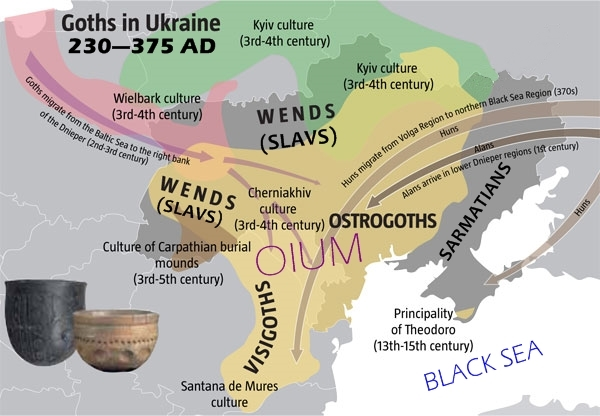 A HISTORY OF UKRAINE. EPISODE 11. THE GOTHS