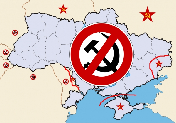 DECOMMUNIZATION SUCCEEDS IN FREE UKRAINE — STALINISM PLAGUES RUSSIA-OCCUPIED UKRAINE