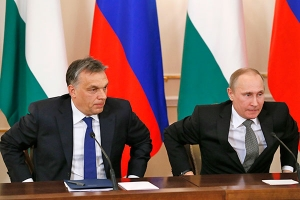 RUSSIA AND HUNGARY CO-ORDINATE INTERFERENCE IN UKRAINE'S FUTURE