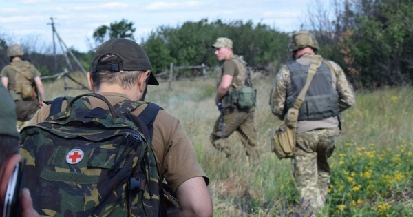 RUSSIAN INVASION-OCCUPATION FORCES SHELL VILLAGES IN EASTERN UKRAINE
