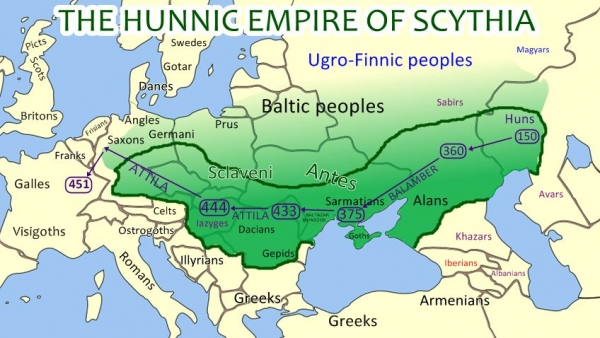 A HISTORY OF UKRAINE. EPISODE 13. THE HUNNIC EMPIRE