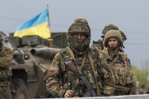 UKRAINE LIBERATES ANOTHER VILLAGE ON THE RUSSIAN INVASION OF EUROPE BATTLEFRONT