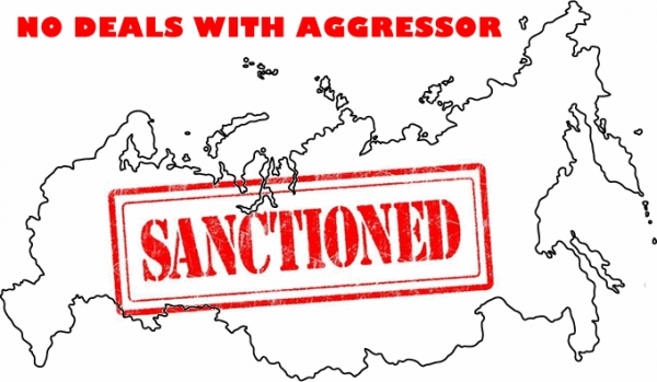 RUSSIA CONTINUES TO INVADE UKRAINE — SANCTIONS REMAIN