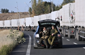 FEEDING PUTIN'S WAR MACHINE: 70TH CONVOY TO RUSSIAN ARMY INVADING UKRAINE