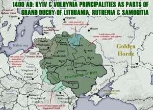 A HISTORY OF UKRAINE. EPISODE 29. THE DUCHY OF LITHUANIA, RUTHENIA AND SAMOGITIA