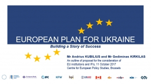 THE EUROPEAN PLAN FOR UKRAINE