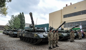 UKRAINIAN ARMY GETS NEW ARMOUR FOR THE FIGHT AGAINST RUSSIAN INVADERS