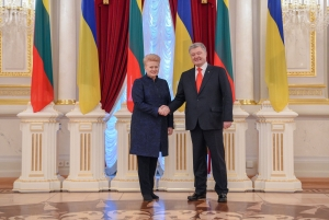 LITHUANIA IMPOSES SANCTIONS BECAUSE OF RUSSIA'S ACT OF WAR AGAINST UKRAINE