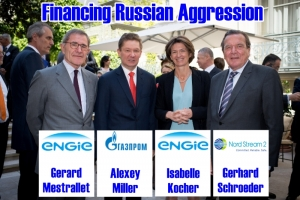 TRUMP ADMINISTRATION ALLOWS SANCTIONS-BUSTING ENGIE TO FINANCE RUSSIAN AGGRESSION