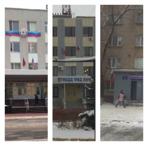 RUSSIAN FLAGS IN LUHANSK: PUTIN'S INVASION LAID BARE