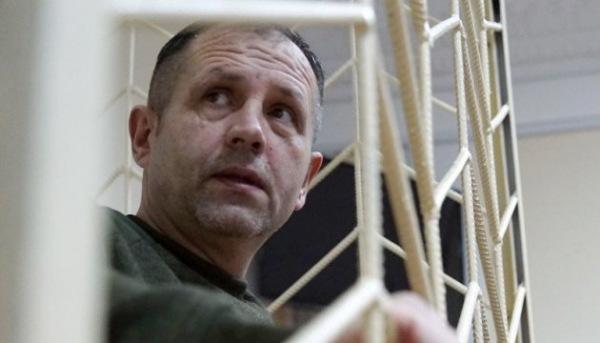 RUSSIA'S HOSTAGE VOLODYMYR BALUKH — HIS LIFE IS THREATENED. WE DEMAND HIS RELEASE