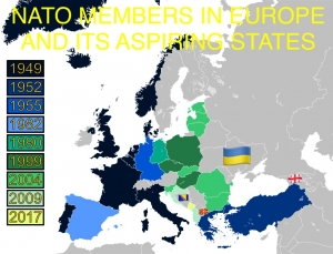 UKRAINE'S PATH TO NATO MEMBERSHIP BECOMES CLEARER