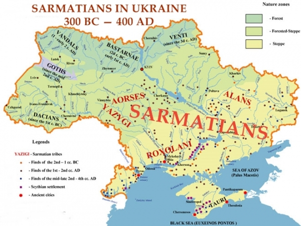 A HISTORY OF UKRAINE. EPISODE 10. THE SARMATIANS