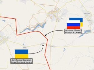 RUSSIA'S INVASION OF UKRAINE: UKRAINIAN ARMY TAKES CONTROL OF VIKTORIVKA ON FRONT LINE