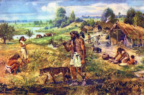 A HISTORY OF UKRAINE. EPISODE 3. THE NEOLITHIC REVOLUTION