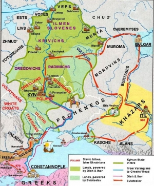 A HISTORY OF UKRAINE. EPISODE 17. PRINCE SVIATOSLAV: THE CONQUEST OF ZALESYE AND CRIMEA
