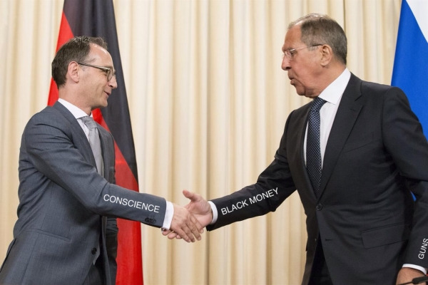 "HEIKO MAAS HAS HIS ""MUNICH 1938"" MOMENT — HE GOES AGAINST CHANCELLOR MERKEL OVER NORD STREAM 2"