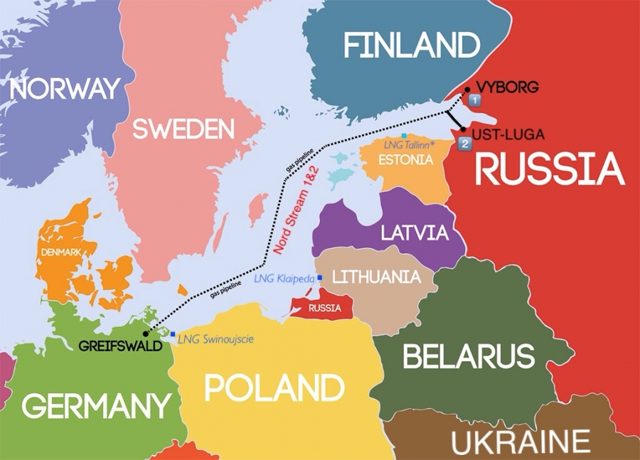 Nord Stream 2 Karte.The Nord Stream 2 Threat To Ukraine And The Rest Of Europe