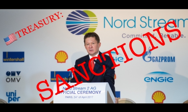 ALEXEY MILLER AND GAZPROM GIVEN THE 'COUP DE GRÂCE' BY THE US: NORD STREAM 2 IS DEAD