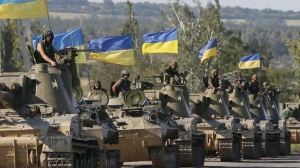 UKRAINE HITS BACK — PUTIN'S INVASION ARMY FLOUNDERS IN DONBAS