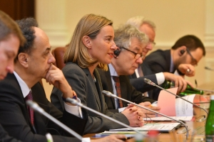 MOGHERINI AND THE EU: STILL NOT FACING UP TO RUSSIA'S INVASION OF EUROPE IN UKRAINE