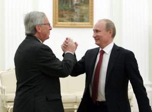 WHAT'S WRONG WITH MR. JUNCKER? OSTPOLITIK AGAIN?