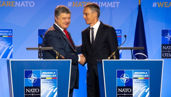 NATO NEEDS UKRAINE AS A MEMBER TO WIN VICTORY OVER RUSSIA
