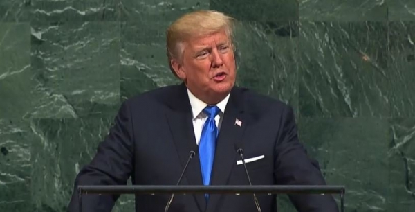 STATEMENT BY PRESIDENT OF THE USA TO THE UNITED NATIONS
