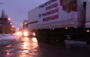 PUTIN SENDS 74TH SUPPLY CONVOY TO RUSSIA'S ARMY INVADING UKRAINE