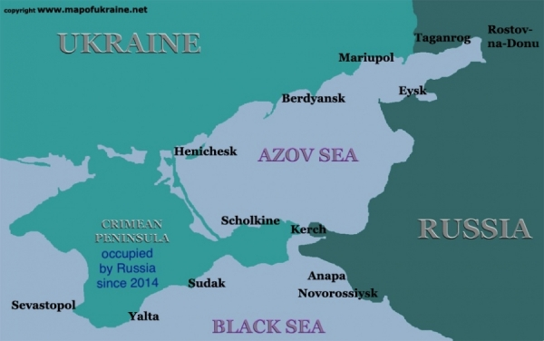 RUSSIA EXPANDS WAR AGAINST UKRAINE TO SEA OF AZOV  — EU CONSIDERS MORE SANCTIONS