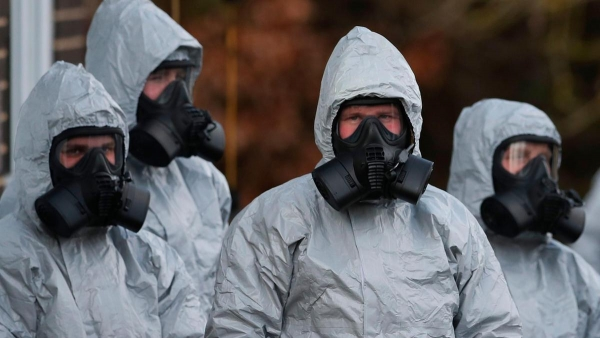 RUSSIAN INVADERS PREPARING TO USE CHEMICAL WEAPONS IN EASTERN UKRAINE