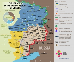 RUSSIA BREAKS LATEST CEASEFIRE, ATTACKS EUROPE'S DEFENDERS AT SHCHASTYA (MEANS 'LUCK'), UKRAINE