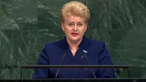 STATEMENT BY PRESIDENT OF LITHUANIA TO THE UNITED NATIONS