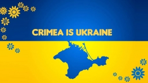 CRIMEA IS A PART OF UKRAINE AS ALASKA IS A PART OF THE USA
